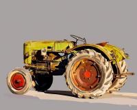 Vintage Tractor VI