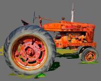 Vintage Tractor XI