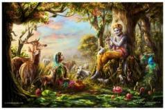 Love Is In The Air - Radha Krishna