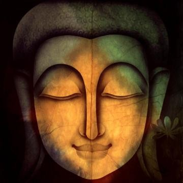 Canvas Wall Art Lord Buddha Painting