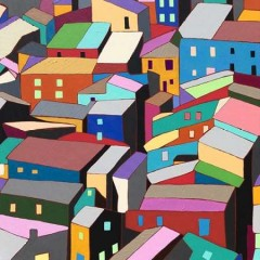 Abstract architecture and cityscapes
